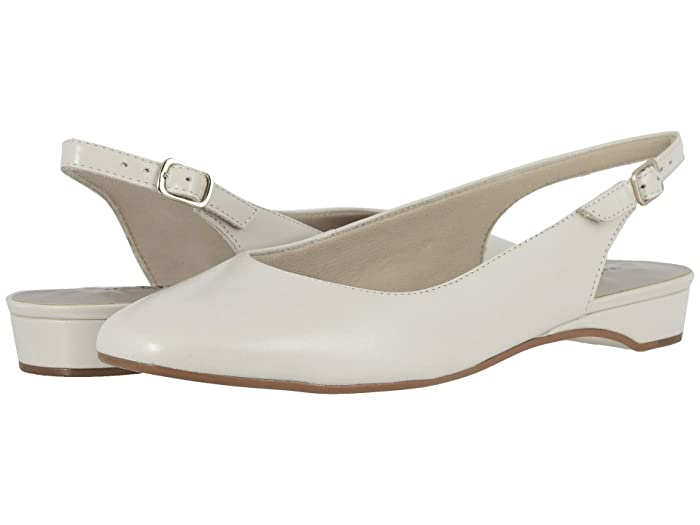 1950s Style Shoes | Heels, Flats, Saddle Shoes Walking Cradles Parasol Bone Leather Womens Shoes $47.25 AT vintagedancer.com