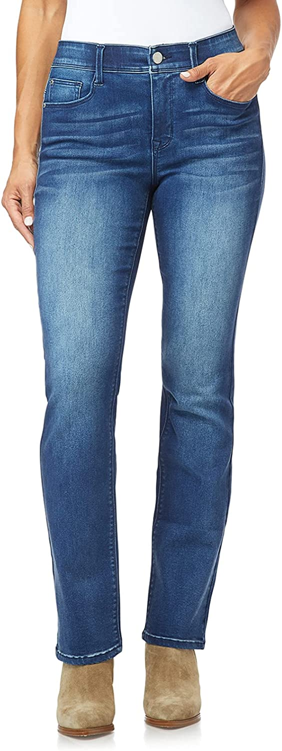 Angels Forever Young Women's 360 Sculpt Bootcut Jeans