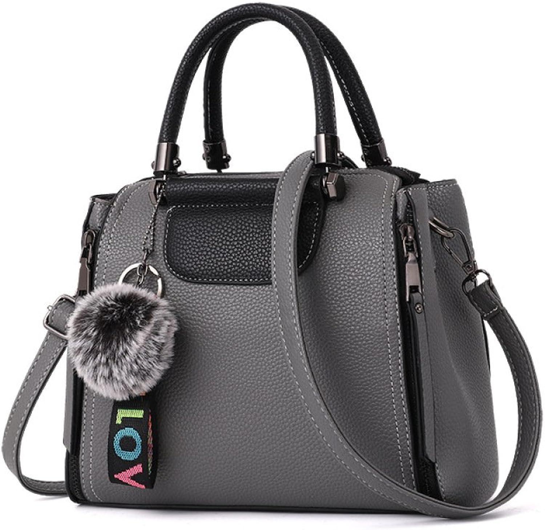 Damen Damen Damen Schultertasche Mode Vintage Handtasche Koreanisch PU Reise Handtasche B07F7SR79B  Die Menschen verlassen sich auf Kleidung 2593f8
