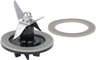 Blade Cutting Cutter SPB-456-2 with 2 Gasket Rubber Sealing Seal O-ring, Replacement for Cuisinart Blenders # BFP703 BFP-703 BFP703B BFP-703CH SPB7 SPB-7BK CB8 CB9 BFP-703