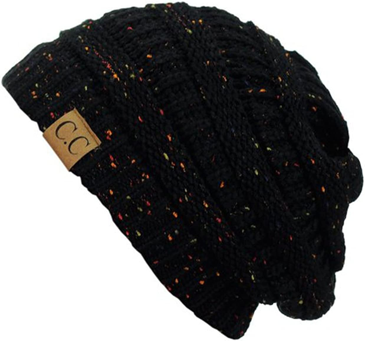 C.C Trendy Warm Chunky Soft Stretch Max 63% OFF Cable Slouchy In a popularity Sk Knit Beanie