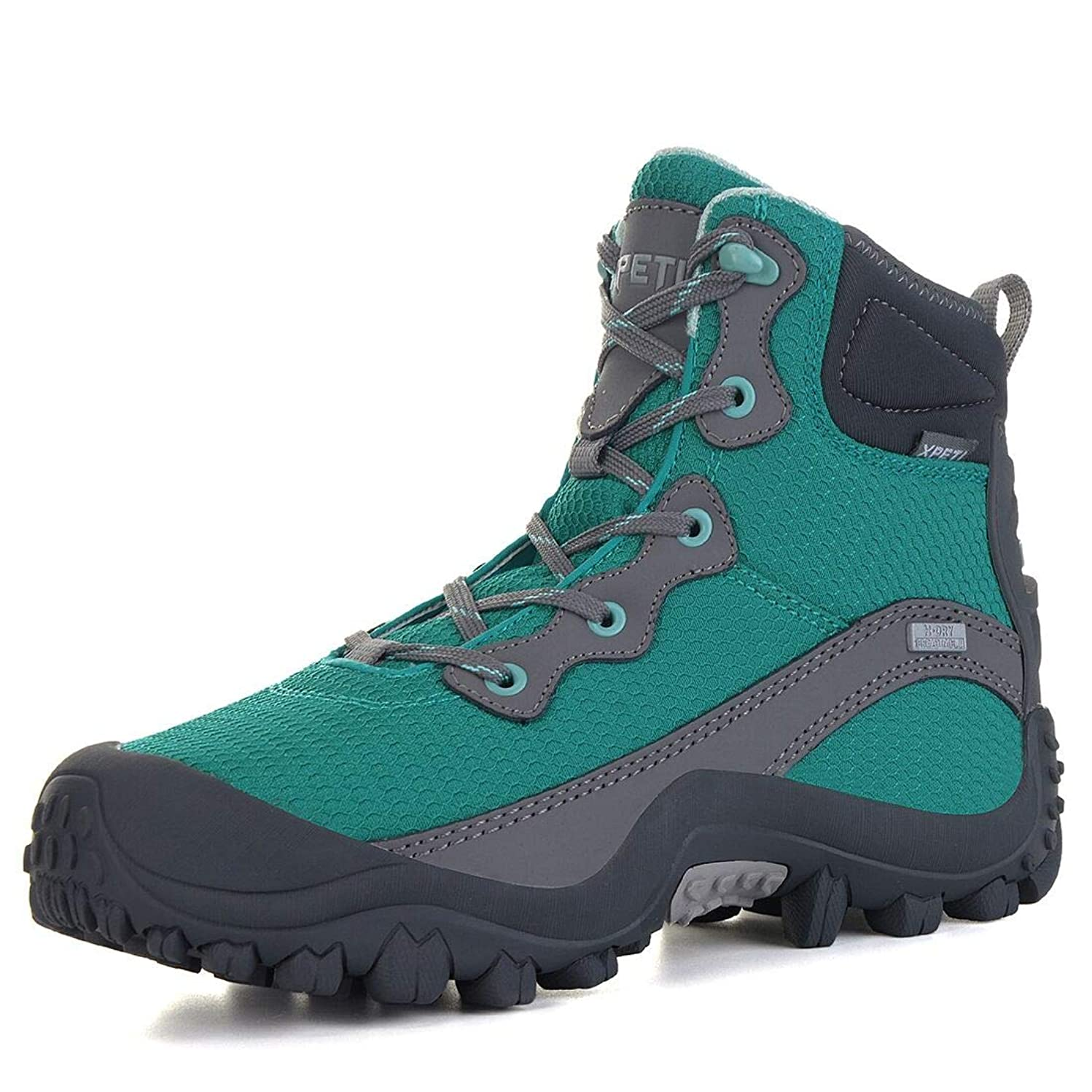 GEAR DEPOT Women's Dimo Hiking Boots, Mid Waterproof Trekking Outdoor Boot