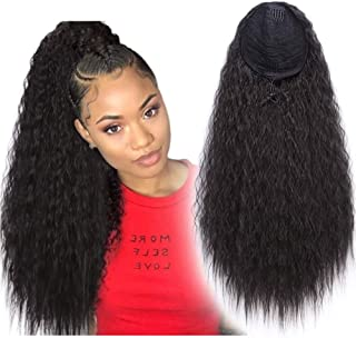 Best long curly drawstring ponytail Reviews
