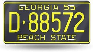 1955 georgia license plate