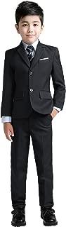 Boys Colorful Formal Suits 5 Piece Slim Fit Dresswear Suit Set