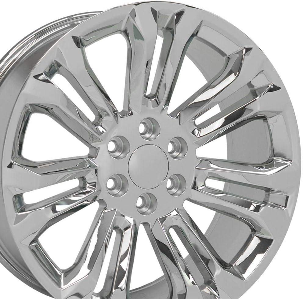 OE Outlet sale feature Wheels LLC 22 Inch Fit Tahoe GMC Silverado Sierra Yukon Chevy Ranking TOP16