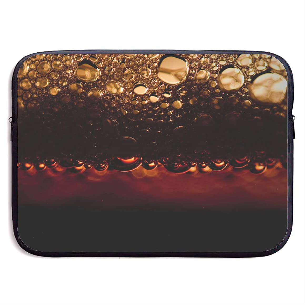 Laptop Sleeve Bag Beer Bubbles Handbag Case Computer Bag Zipper Notebook Cover