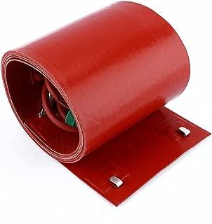 Akozon Silicon Metal Oil Drum Heater Gallon Insulated Pail Heater - Bucket Heater (55 Gallon/200 Liter)