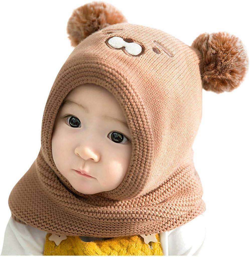 Little Max 68% OFF Kid Soft Winter Warm Arlington Mall Knitted Girls Jchen Hats Croche Boys