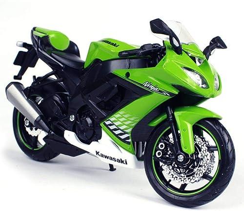 primera vez respuesta Penao Modelo CQS de la Motocicleta de la aleación aleación aleación de simulación ZX-10R, Ornamentos del Modelo de Coche, proporción 1 12  Venta en línea precio bajo descuento