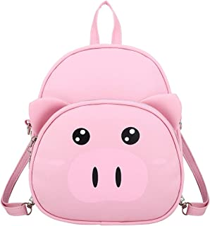 Goddesslili Mini Backpack, Cute Piggy Cartoon Small Backpack for Boys Girls