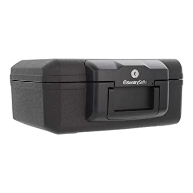 SentrySafe 1200 Fireproof Box with Key Lock, 0.18 Cubic Feet
