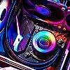 Cooler Master MasterLiquid ML240 Mirror ARGB CPU Dissipatore Liquido, Sistema Raffreddamento ad Acqua AIO, 2 x 120mm Ventole SickleFlow V2, Radiatore 240mm Potenziato, Compatibile Socket AMD e Intel #5