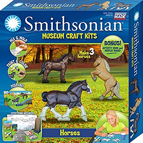 Smithsonian Horses PerfectCast Museum Craft Kit