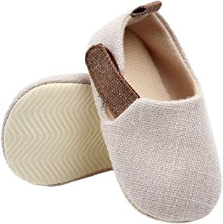Hopscotch Baby Boys Cotton Solid Booties in Beige Color