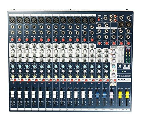 Soundcraft EFX 12 Kompaktmischpult 12 Mono-2 Stereokanäle, FX