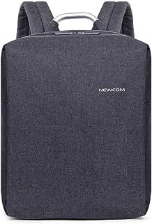 Newcom Mochila para Portátil 600D Poliéster Antirrobo y Resistente al Agua 15.6 Pulgadas Bolsa para Ordenador Negocios Viajes Universidad