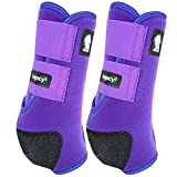 Classic Rope Company Legacy2 Front Protective Boots 2 Pack Purple M