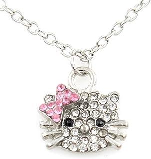 75842480a4144 Amazon.com: Hello Kitty - Necklaces & Pendants / Jewelry: Clothing ...