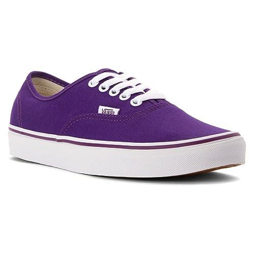 a56ef73e13c30f Vans Unisex Pop Check Authentic Skate Shoe Purple