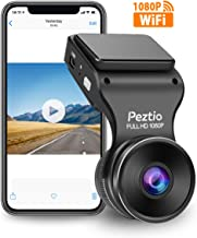 Peztio Dash Cam WiFi, FHD 1080P Dash Camera for Cars, Car...