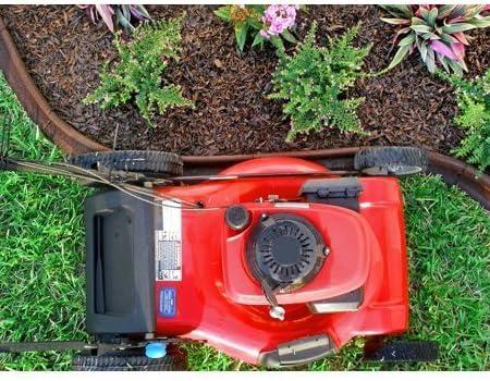 Amazon Com Ecoborder 4 Ft Black Rubber Landscape Edging 6 Count Pack Of 3 Garden Outdoor