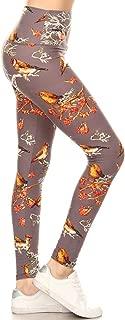 REG/Plus Women's Buttery Soft High Waisted Print Leggings