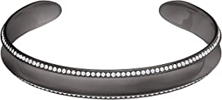 Swarovski Women's Ruthenium Plated Lakeside Cuff Bracelet - 5400078