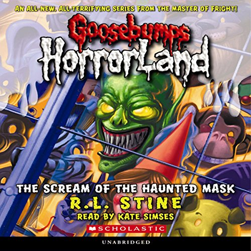 Goosebumps HorrorLand #4 audiobook cover art
