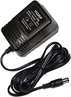 HQRP AC Adapter Compatible with Roland BRA-120 CL-50 DS-330 EH-50 GE-21 DL-50 DR-660 GR-09 JX-1 SPD-11 SPD-20, Power Supply Cord, 12V AC 12449622 BRA120