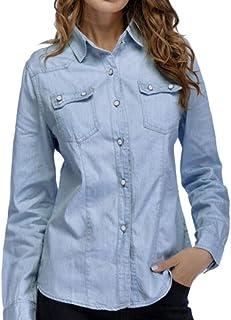 ac03b33c3 Amazon.es: camisetas futbol - Azul / Blusas y camisas / Camisetas ...