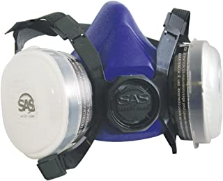 SAS Safety 8661-92 Bandit Half Mask Respirator, Medium