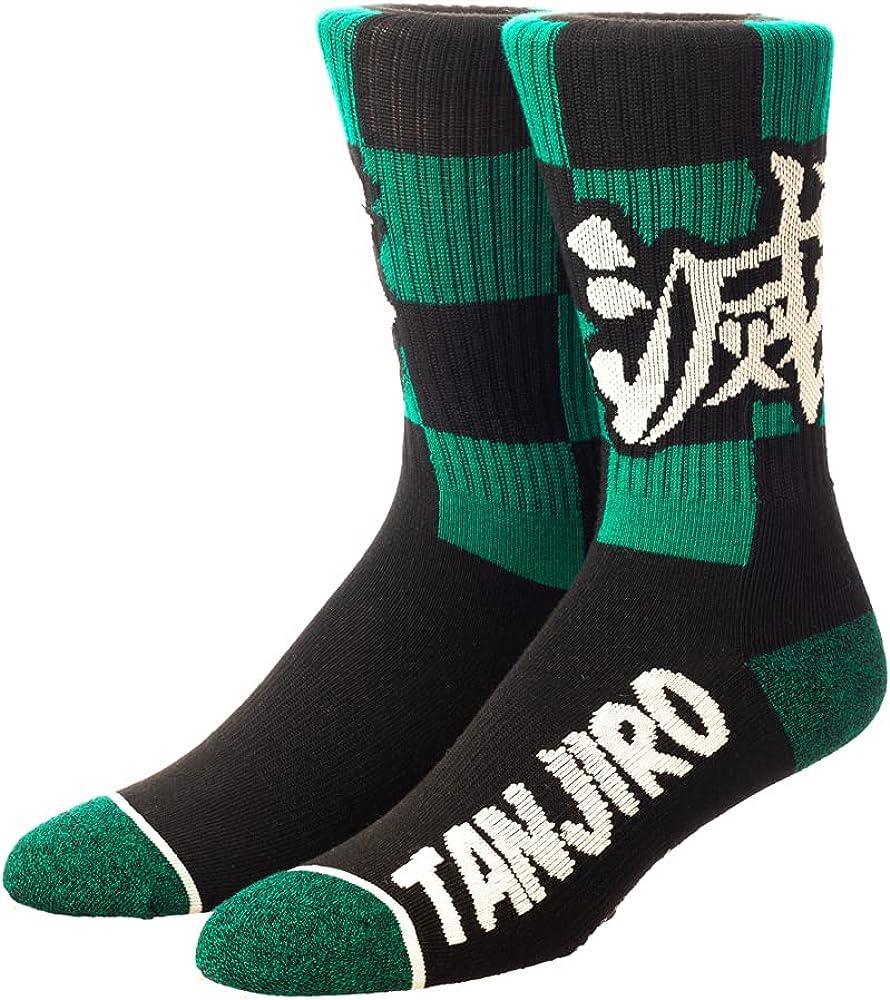 Demon Slayer Tanjiro Athletic Crew Socks