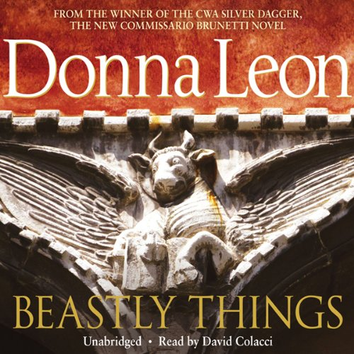 Beastly Things audiobook cover art