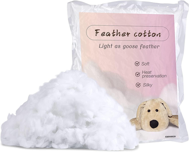 QMNNMA 300g 10.5oz Spasm price Premium Polyester Fill White Indianapolis Mall High Resi Fiber