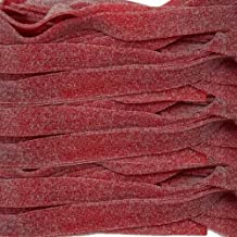 Smarty Stop Sour Candy Belts All Color (Wild Cherry)
