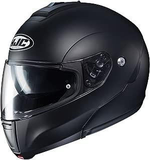 HJC Solid Men's CL-MAX 3 Modular Street Motorcycle Helmet - Semi Flat Black/X-Large