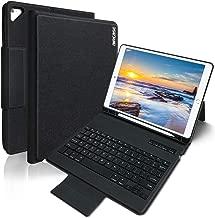 iPad Keyboard Case 9.7 for New iPad 2018 (6th Gen) - iPad Pro 2017 (5th Gen) - iPad Air 2/1 - COO Detachable Wireless Bluetooth Keyboard - Magnetic Auto Sleep/Wake (Black)
