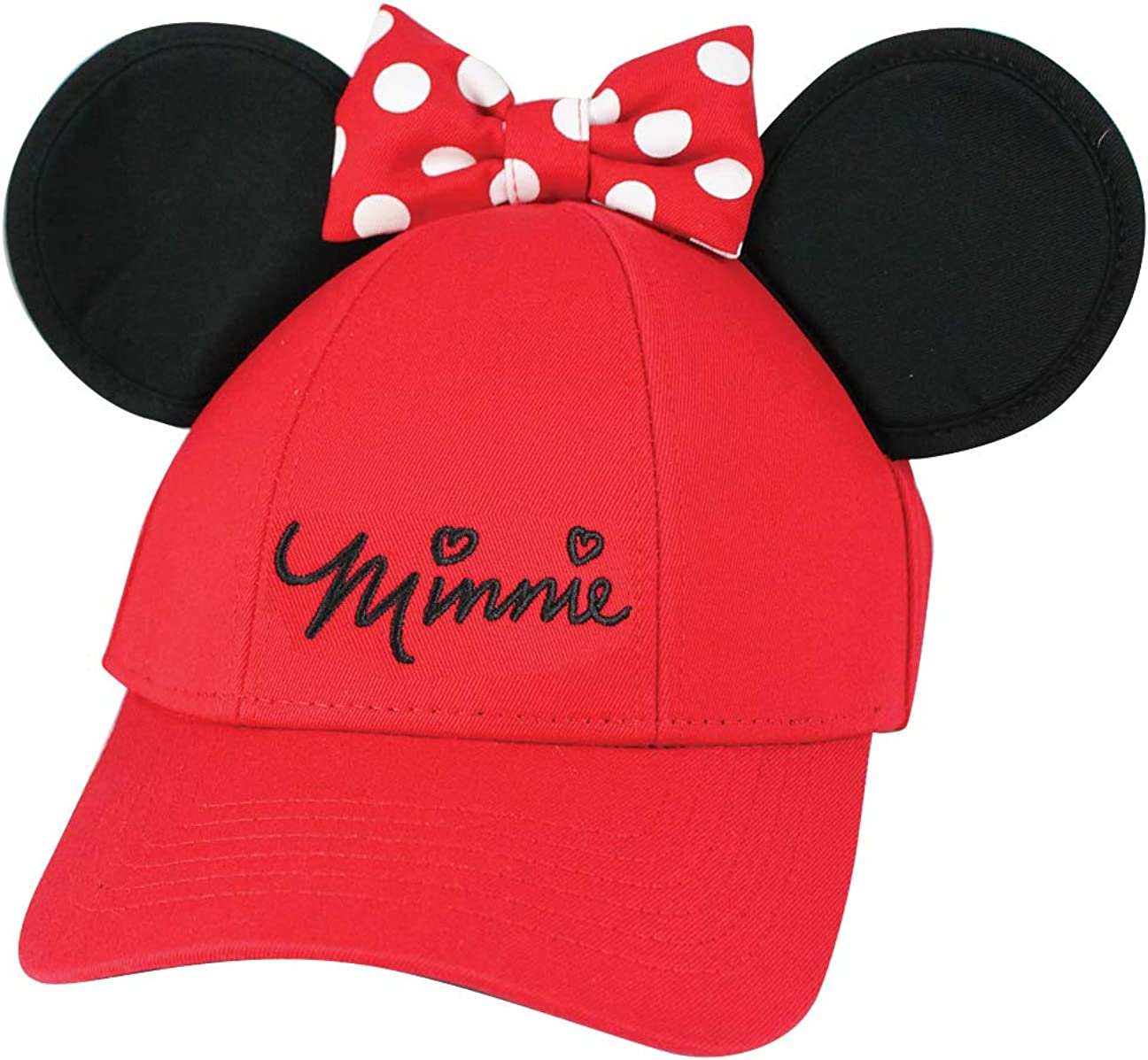 Disney Minnie San Francisco Mall Mouse Memphis Mall Girls Red Ears Cap Youth