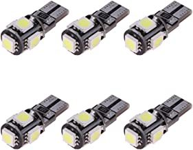UEB 6 X Decoding T10 5050 5SMD Canbus LED Display Wide Lamp Reading Lights