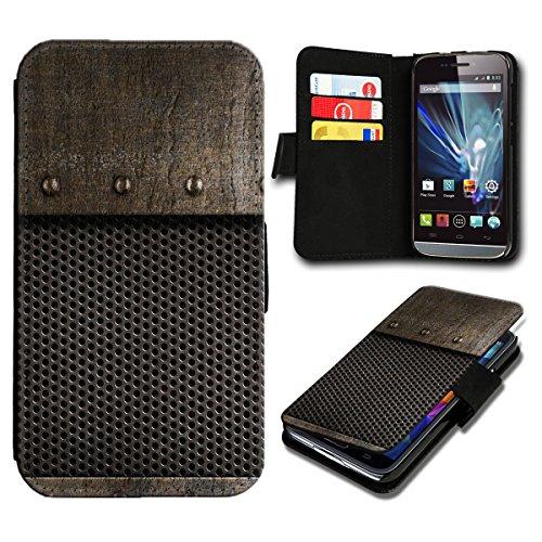 sw-mobile-shop Book Style Huawei Ascend Y300 Premium PU-Leder Tasche Flip Brieftasche Handy Hülle mit Kartenfächer für Huawei Ascend Y300 - Design Flip SB3