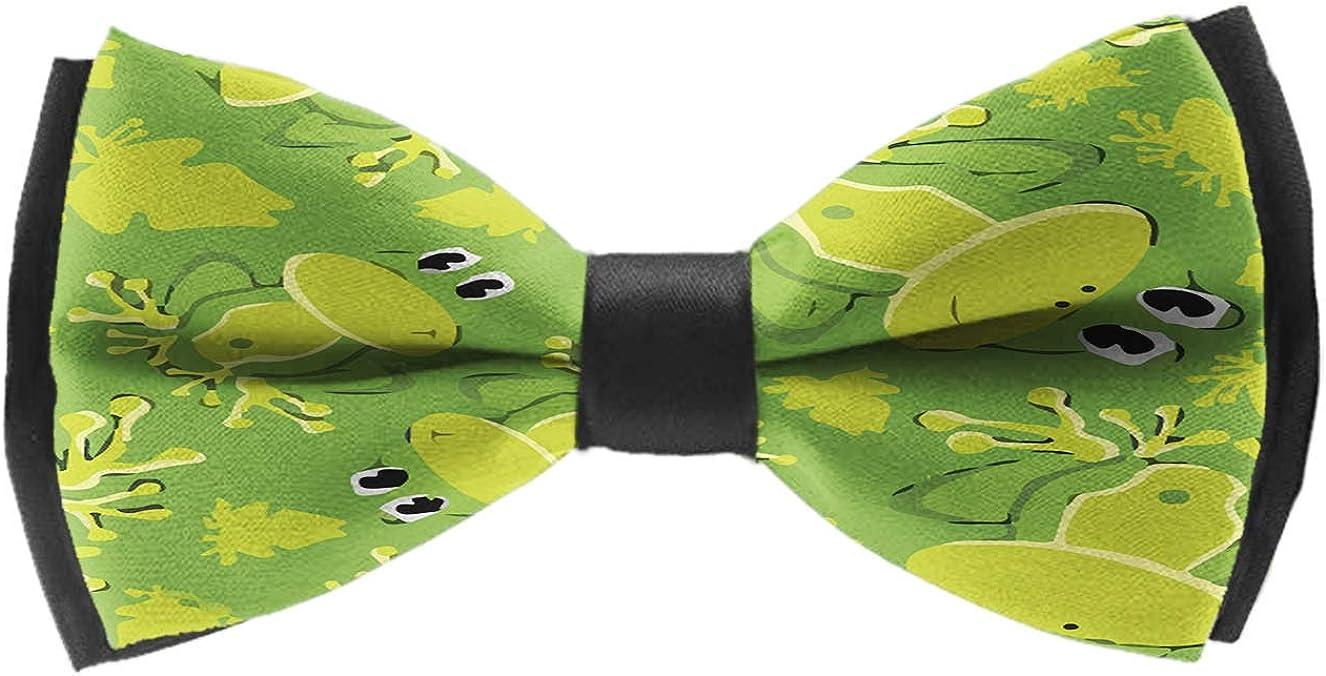 Bow Ties For Men - Mens Pre Tied Bowties(Cute Dinosaurs)