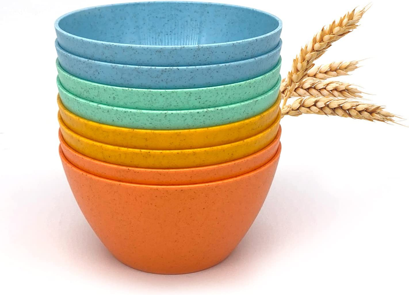 Wheat Straw Lightweight PP Bowls 28 Special price Sacramento Mall for a limited time OZ Unbreakable Cereal