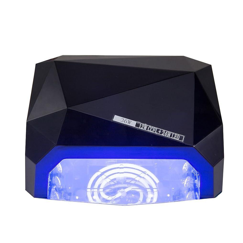 符号素晴らしい浮くネイル光線療法機 ネイルドライヤー-36Wネイルランプ36wネイルダイヤモンドランプUVネイルLED光線療法CCFL + LEDネイルランプセラピーランプ