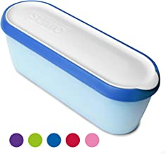 SUMO Ice Cream Containers: Insulated Ice Cream Tub for Homemade Ice-Cream, Gelato or Sorbet - Dishwasher Safe - 1.5 Quart Capacity [Blue, 1-Pack]