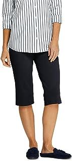 Women's Sport Knit Elastic Waist Pull On Capri Pants