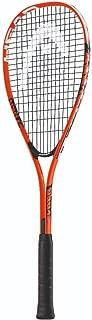 HEAD Cyber Edge 195 Beginners Squash Racquet - Pre-Strung Head Light Balance Racket
