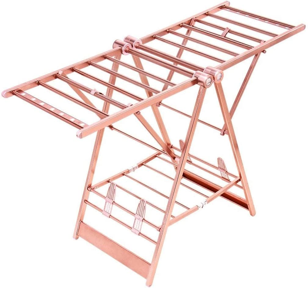HLWJXS Hanger 35% OFF C-Grid Clothes Challenge the lowest price of Japan ☆ Folding Racks Drying