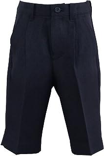 エレガンテポポ フォーマルハーフパンツ 濃紺無地 100~160cm halfpants-nv