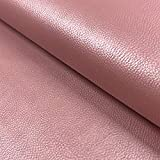 0,5m Kunstleder Uni Perlmutt-Glanz rosa, Altrosa 75% PU 25%